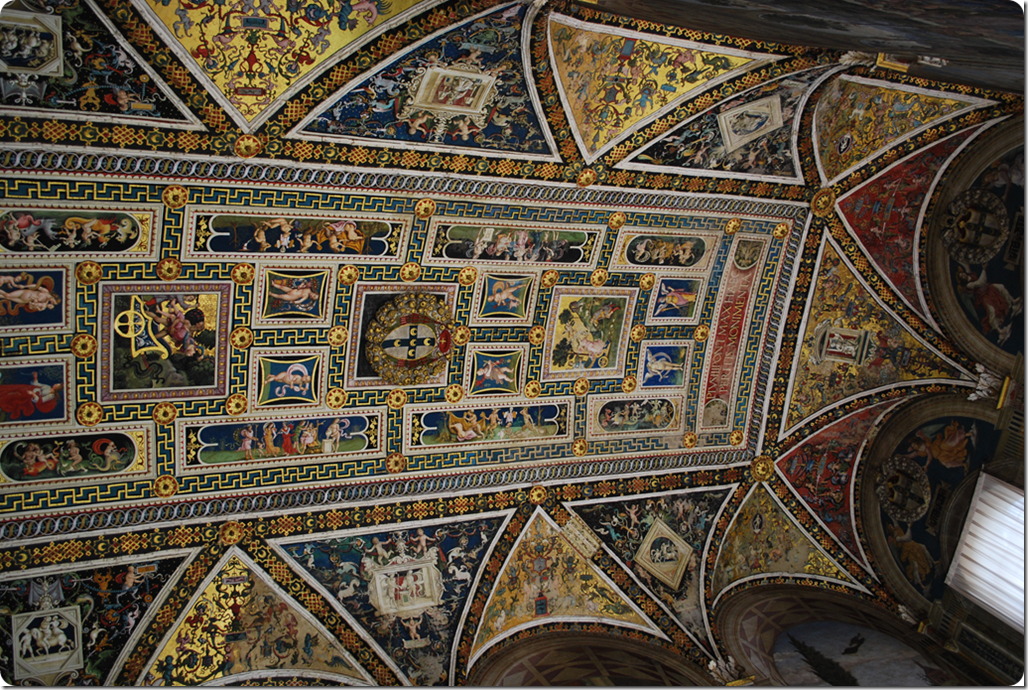 Ceiling of Piccolomini's LIbrary