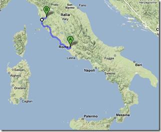 Rome to Volterra