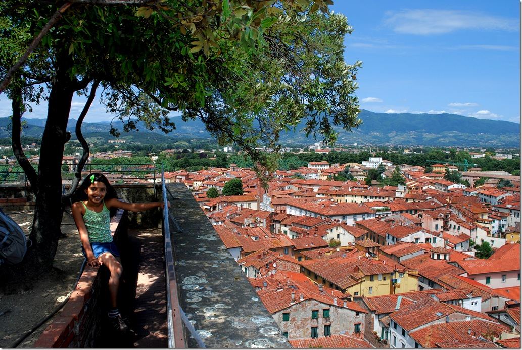The lucca skyline