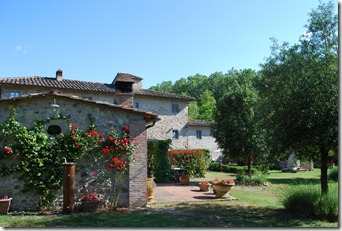 Tinaina (our cottage) at Mulino dell' Abate
