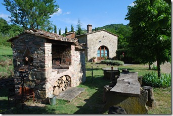 Barbeque at Mulino dell' Abate
