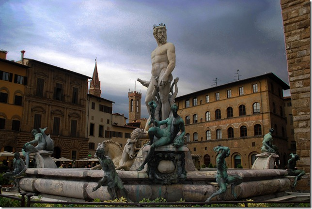Fountain of Neptune by Ammannati