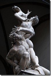 Rape of the Sabines by Giambologna