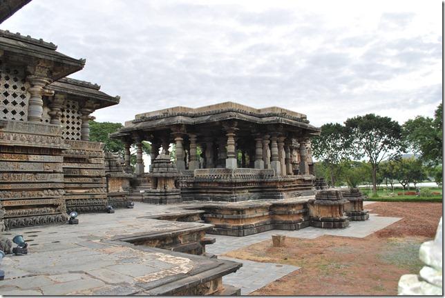 The star shaped platform of Hoysaleshwar temple.