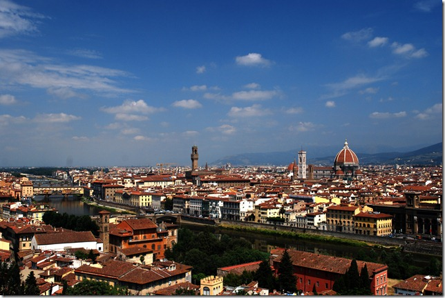 Florentine skyline from Piazzale Michelangelo