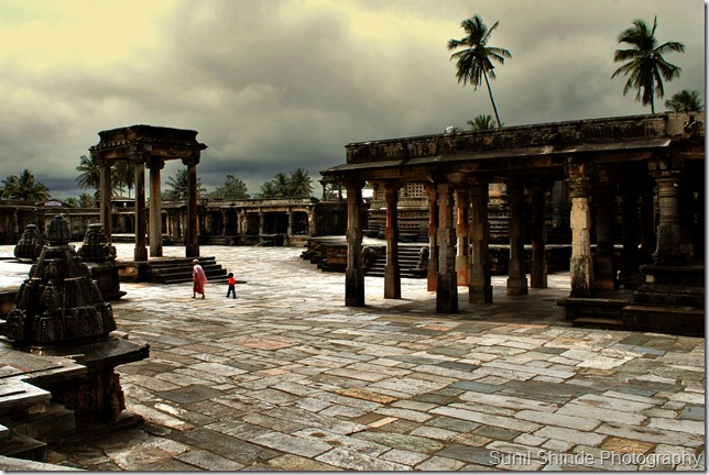 Chennakeshawa Temple Courtyard, Belur