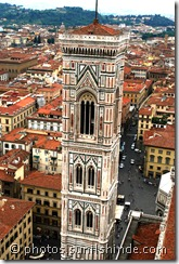 Giotto's campanile from the Dome, Florence