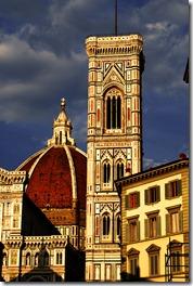 Brunelleschi's dome as seen from the street