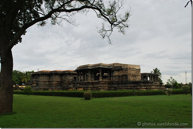 Hoysaleshwar Temple at Hallebid, in the Hassan district of the southern state of Karnataka in India.