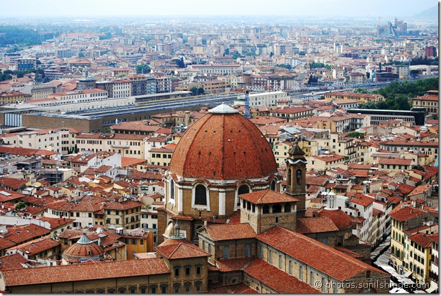 Florence from the Duomo