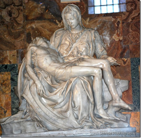 Michelangelo's Pieta in the Vatican