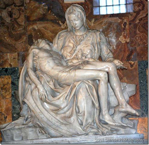 Michelangelo's Pieta in the Vatican