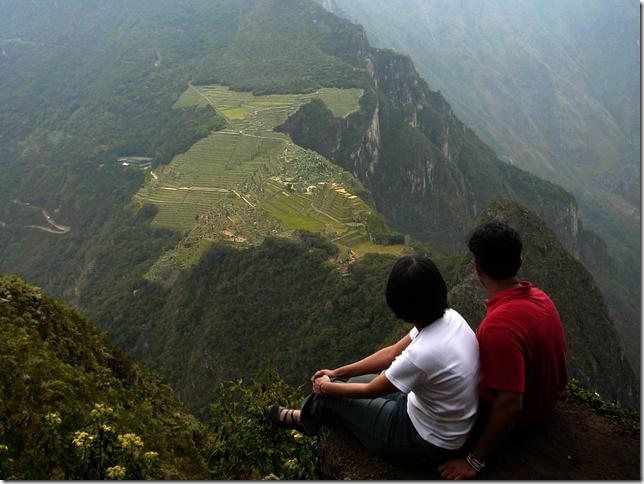 Vijay Preeti at machu Picchu