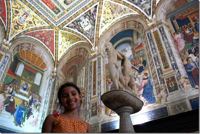 Piccolomini's library