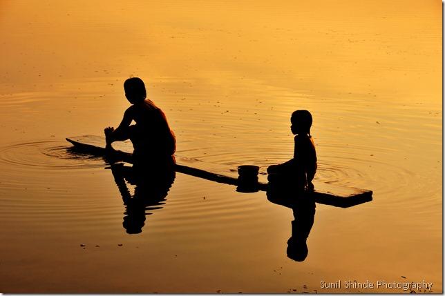 The serene Srah Srang sunrise