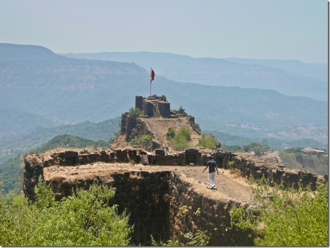 The main turret of Pratapgad