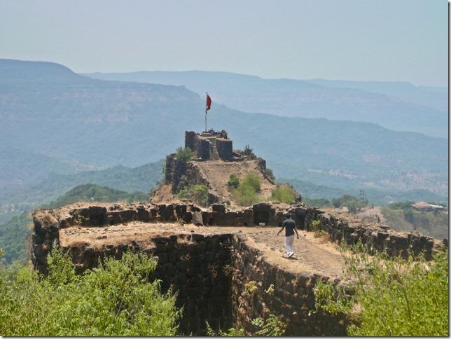 The main turret of Pratapgad