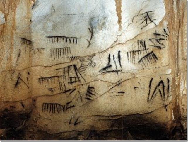 Lunar calendar, Pileta Caves