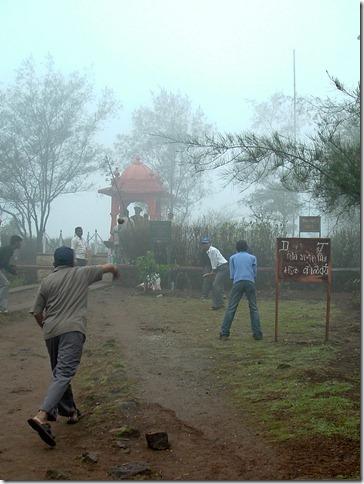 The battlefield at Sinhagad