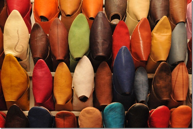 """The must-buy """"babouche"""" at souks in Marrakech"""