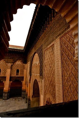 Intricate stucco work