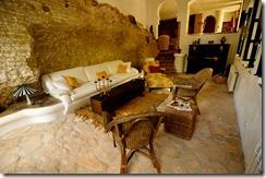 200 year old Roman foundation at La Cazalla, Ronda