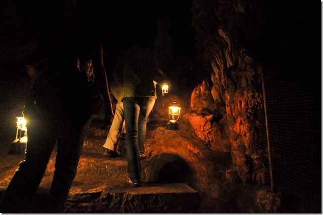 The caverns of the Pileta Cave