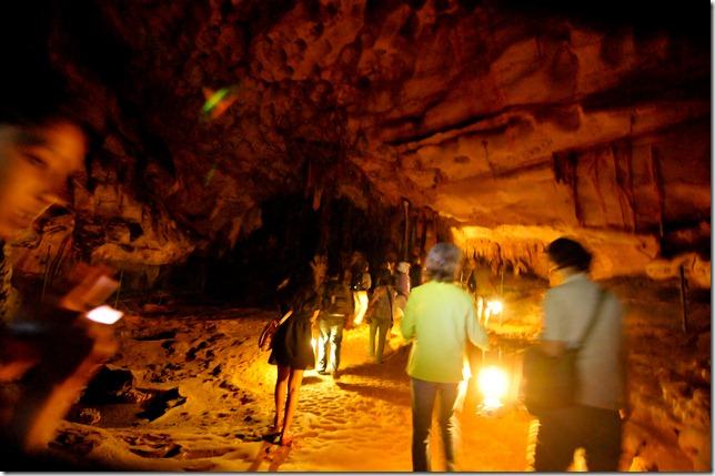 Inside the Pileta Caves