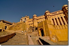Main entrance of the Amber Fort