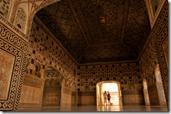 Amber Fort - Sheesh Mahal Interiors