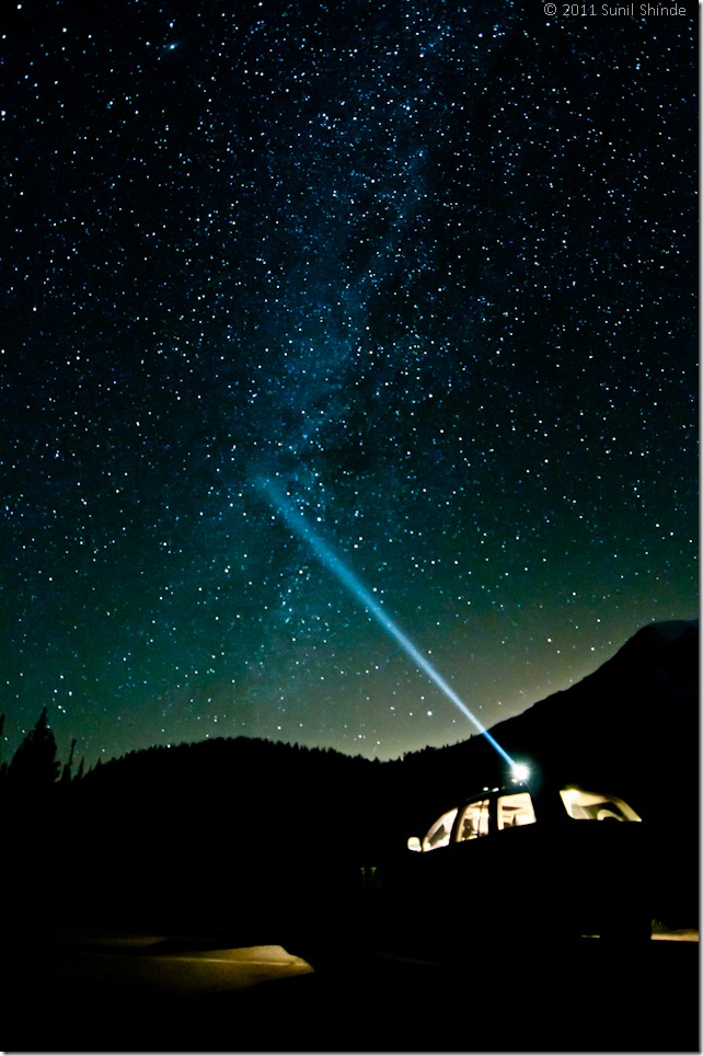 Mt. Rainier Star Trails (72 dpi)