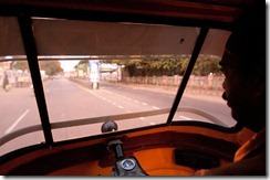 Rickshaw drive to Brihadeshwara temple