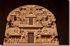 The gopuram at Brihadeshwara Temple