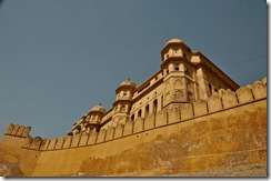 Amber Fort - Fortification Walls
