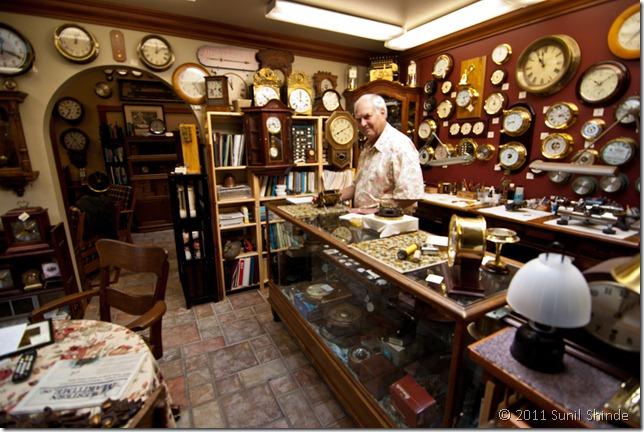 Herb at Langley Clock & Gallery