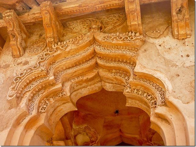 Bahamani arches of the Lotus Mahal
