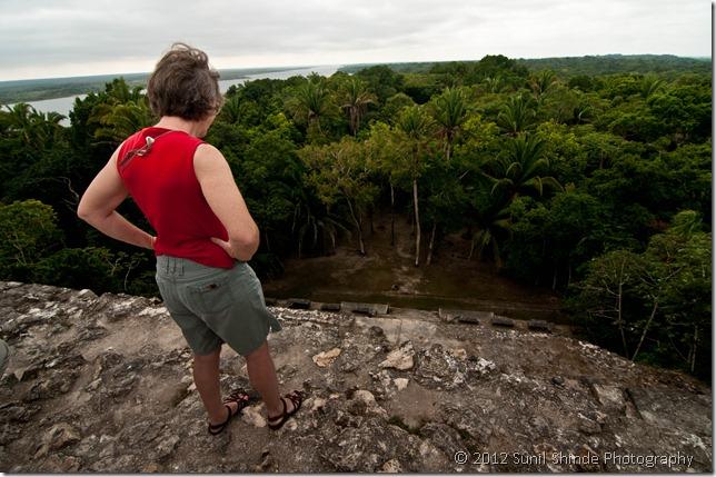 Top of N10 - 43, Lamanai, Belize