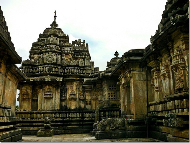 One of the earliest  temple built in Hoysala style