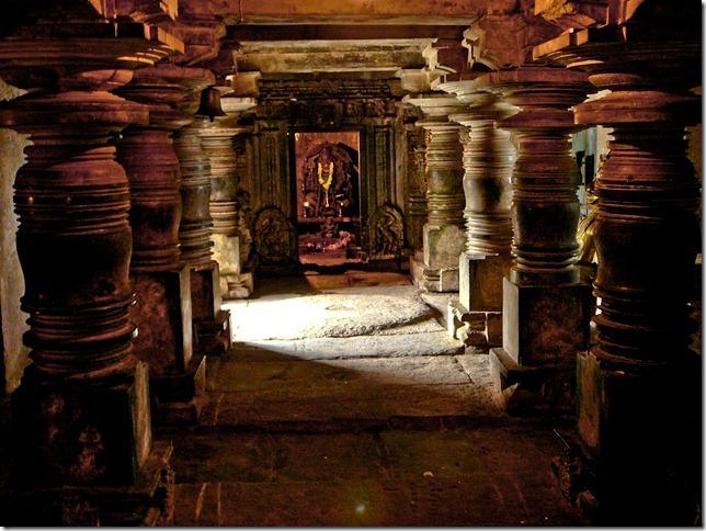 Manthapa of Lakshmi Devi temple, Doddagaddavalli