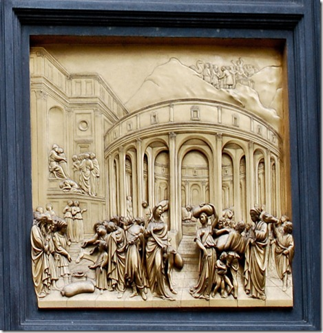 Lorenzo Ghiberti (Italian, 1378–1455). Joseph Panel, from Gates of Parardise