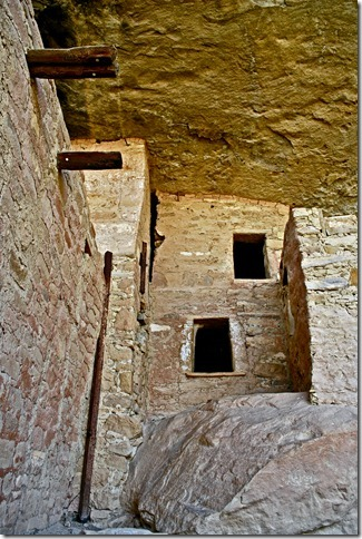 Storage Rooms of the Lower Plaze in Mesa Verde