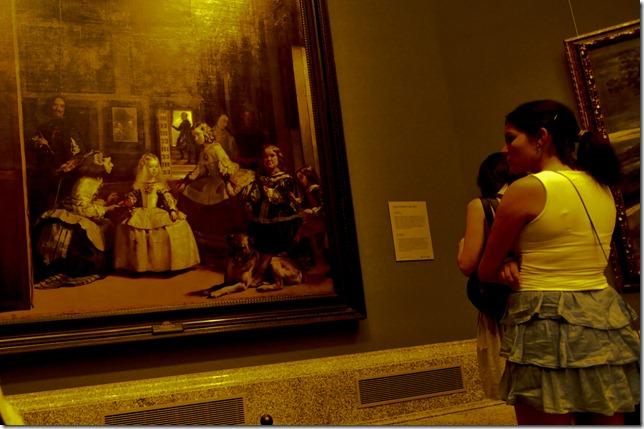 Las Meninas By Diego Velasquez at Prado in Madrid