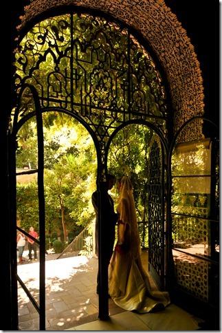 Wedding Vows at Alcazar, Seville