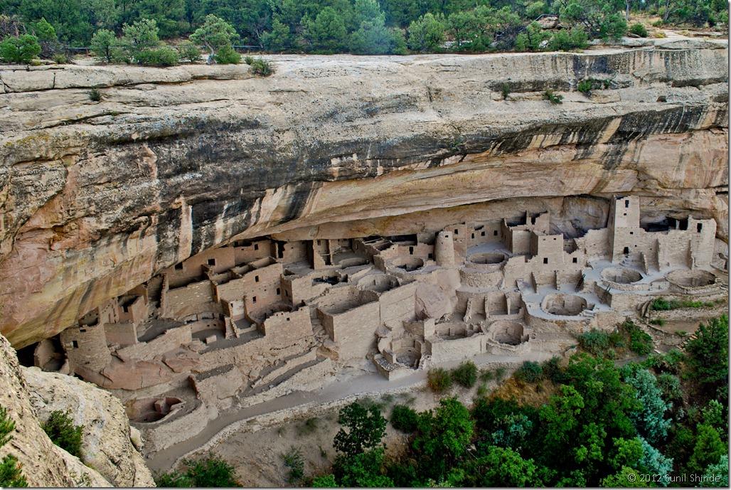 Anasazi Cliff Dwelling, Cliff Palace, Mesa Verde NP