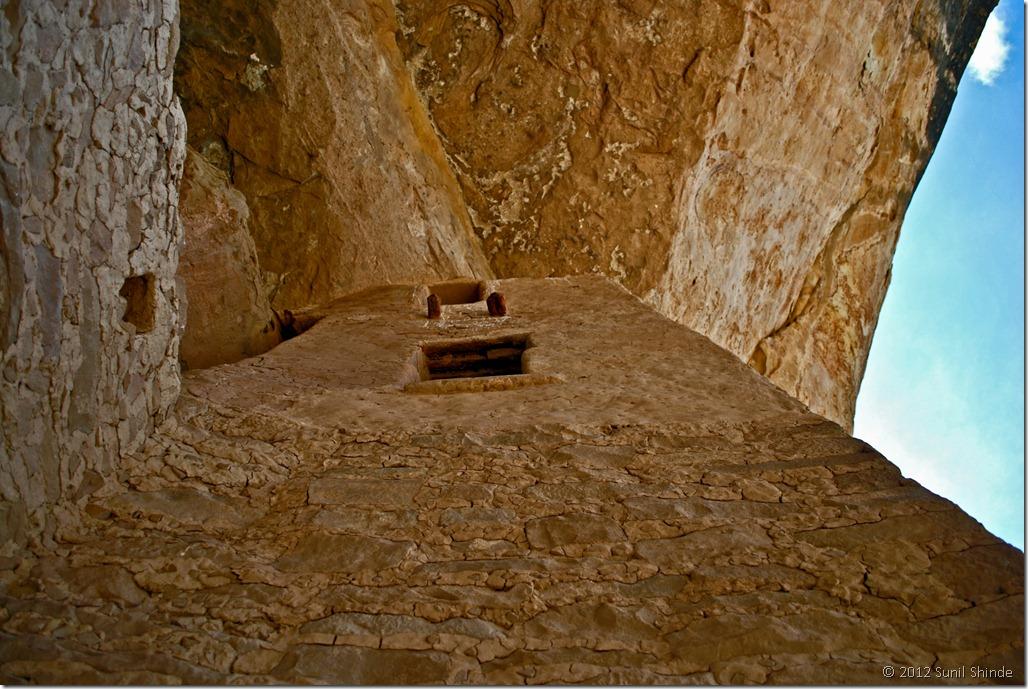 Ancient Anasazi Apartment Tower at Cliff Palace, Mesa Verde