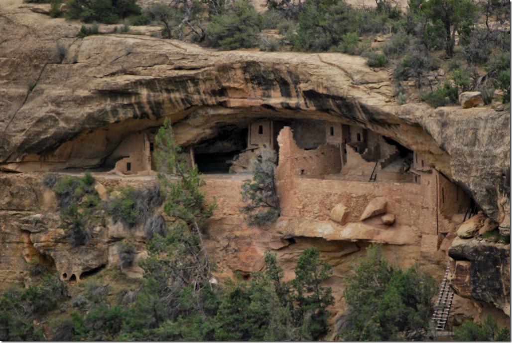 Anasazi Cliff Dwelling - Balcony House, Mesa Verde