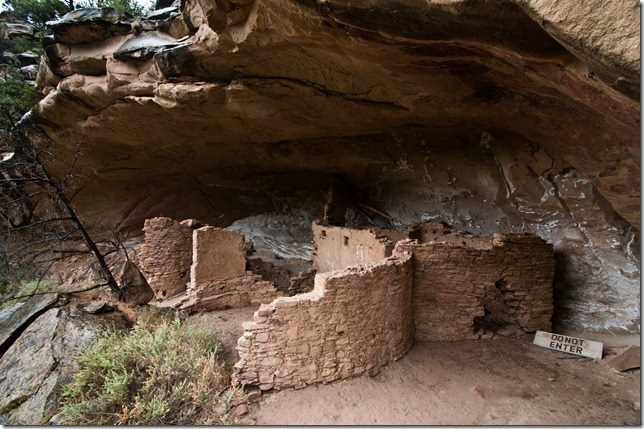 The final Anasazi Ruin of the day.