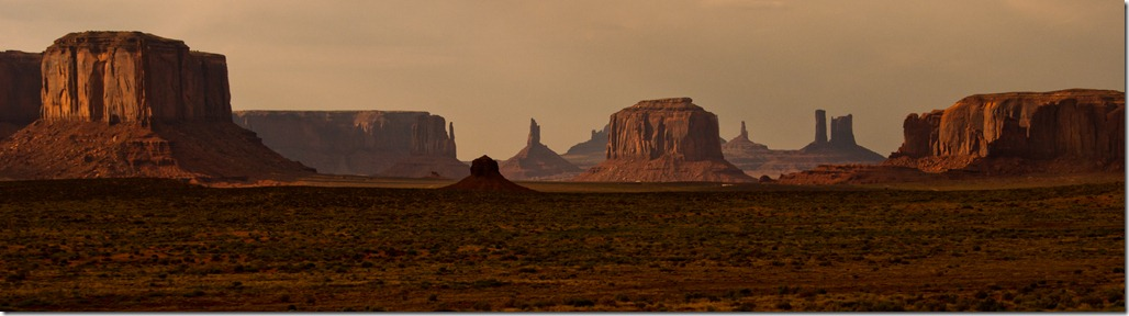 Monument valley Navajo Tribal Park Panaroma