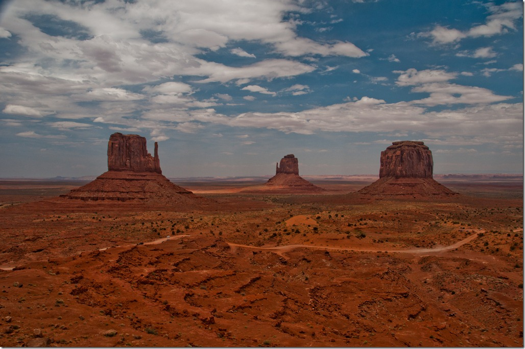 View of the Monument Valley - From the View Lodge Point