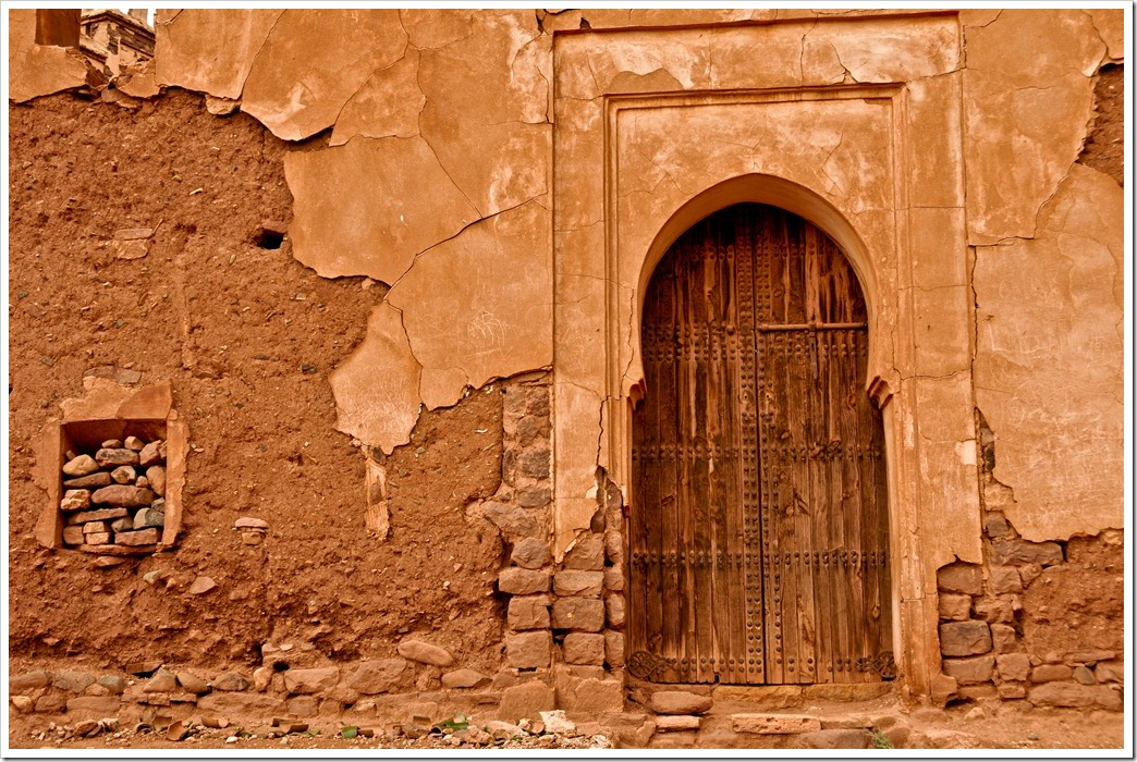 Much of teh kasbah is still not accessible to the public. What mysteries lie locked behind those doors